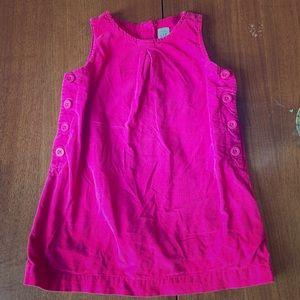 Baby Gap pink corduroy dress